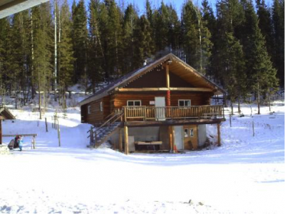 A large, comfortable and heated DAY LODGE -- with water and hot beverages available